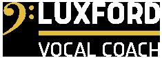 LUXFORD VOCAL COACHING Logo